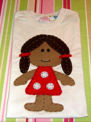 T- Shirt Boneca