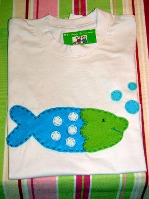 T- Shirt Peixe