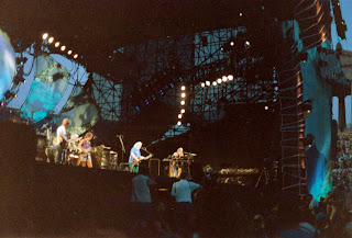 The Grateful Dead at Soldier Field, Chicago, Illinois, July 23, 1994. Photo credit: John Hamilton