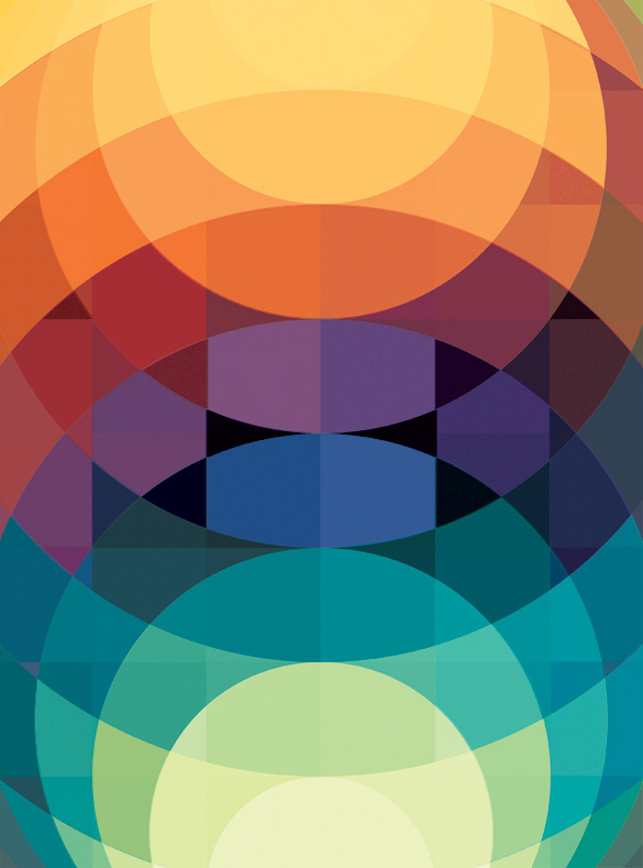 Art Of Posters: The Colorful Geometric Graphic Designs Of