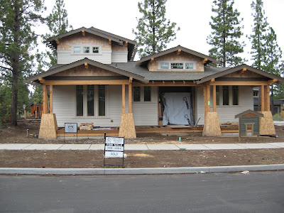 Custom home construction.