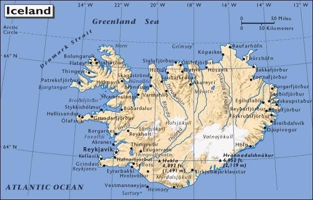 Cartina Muta Islanda.Parole E Pensieri In Liberta Viaggio In Islanda 00 L Organizzazione