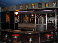 Cartoon theme alcove - Bobby McGee's Nightclub