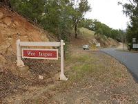 Wee Jasper town sign