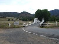 Main bridge going into Wee Jasper
