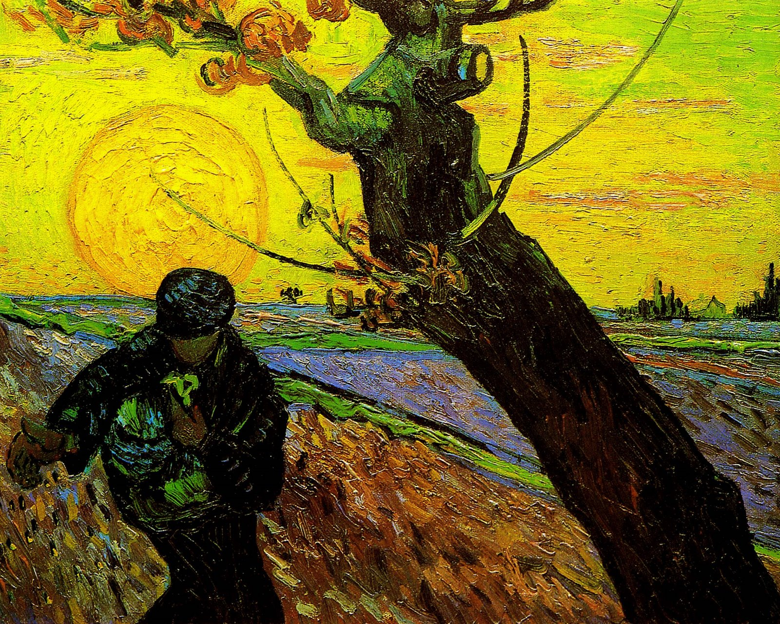 Vincent Van Gogh S The Sower 1888 Van Gogh Vincent