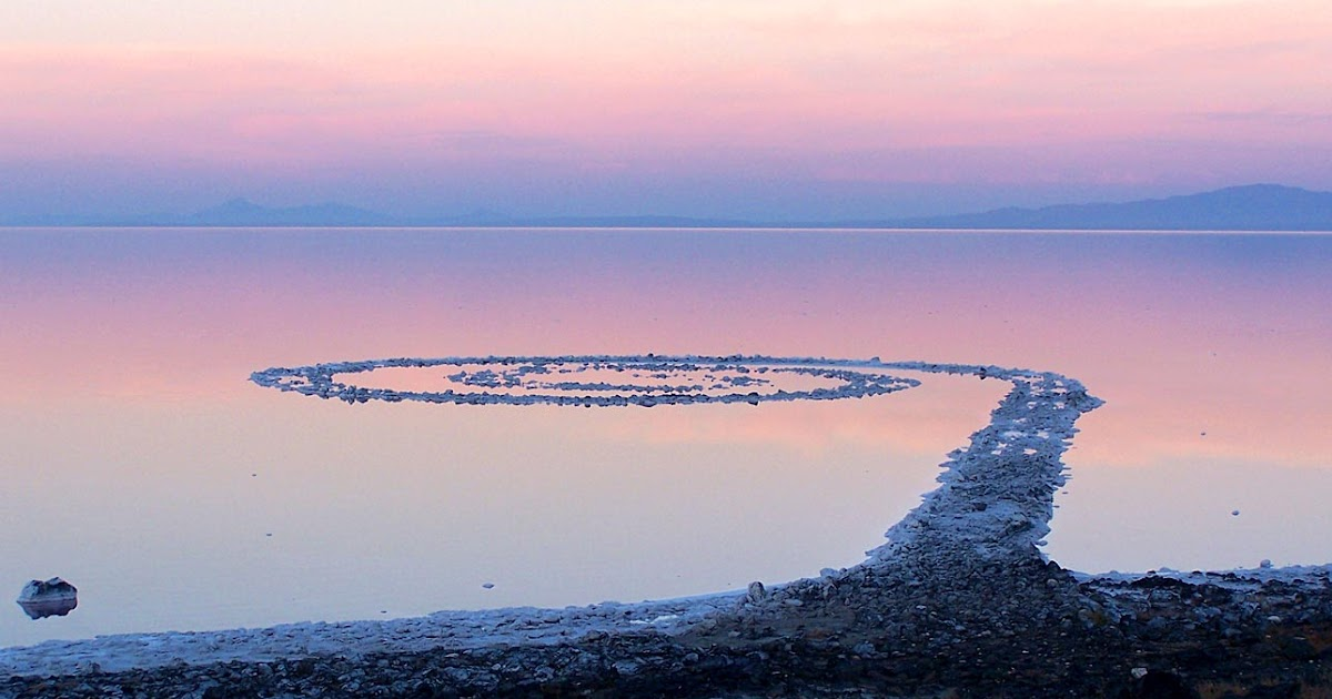 the spiral jetty by robert smithson essay One is smithson's 1972 essay,  phillips was the contractor who built the spiral jetty for artist robert smithson (steve griffin | the salt lake tribune).