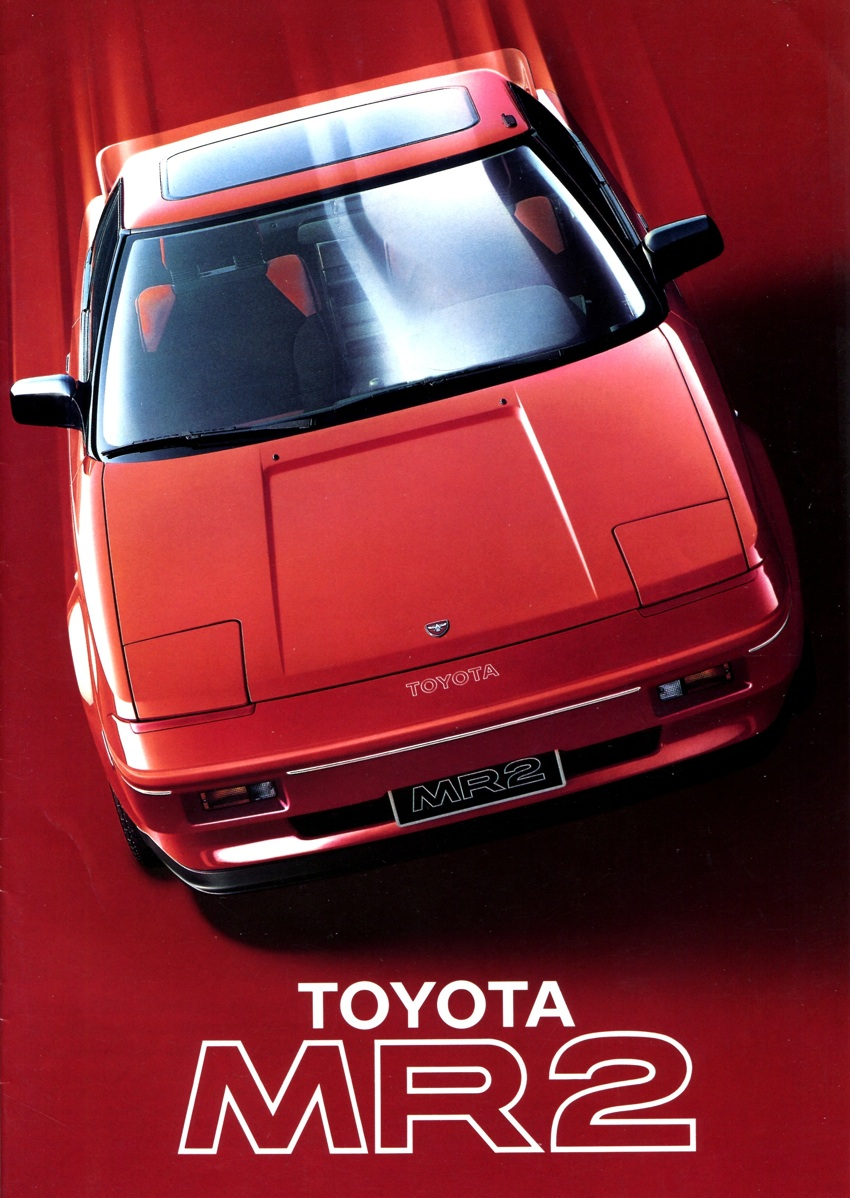 The Driving Philosopher Toyota Mr2 1986 Affordable Mid