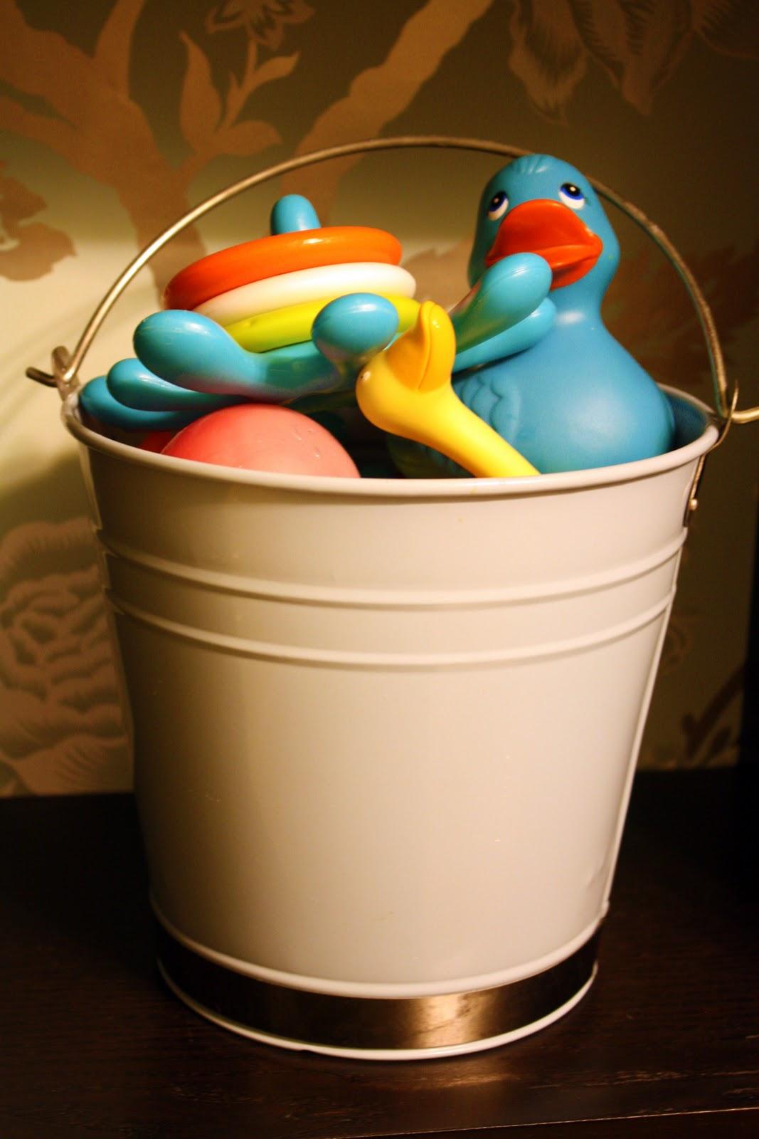 Iheart Organizing Bucket O Bath Toys