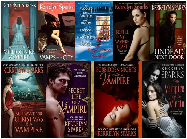 Fang Tastic Fiction Kerrelyn Sparks Love At Stake Series border=