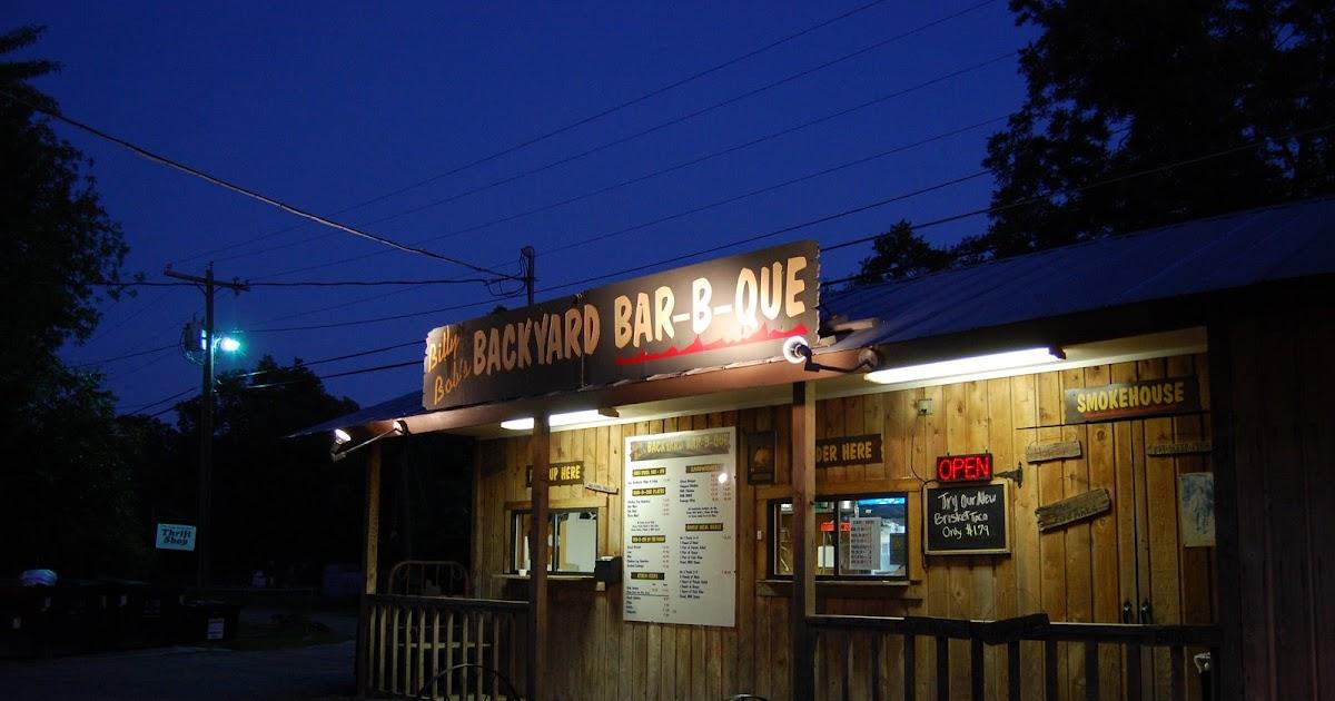 Billy Bob's Backyard Bar-B-Que | Full Custom Gospel BBQ