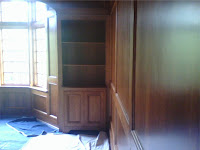 Library cabinet