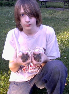 Bunnies and a boy with a big heart