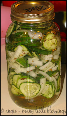 quick and easy bread and butter pickles