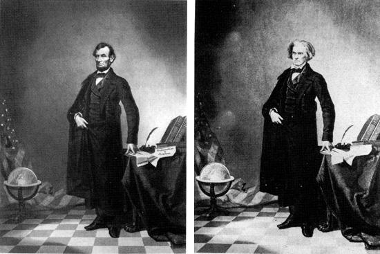 Kuva Abraham Lincolnista