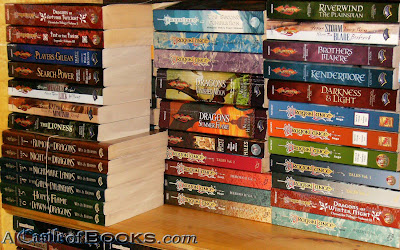 A Castle of Books: Fantasy & SF RPG Fiction - DragonLance, Forgotten