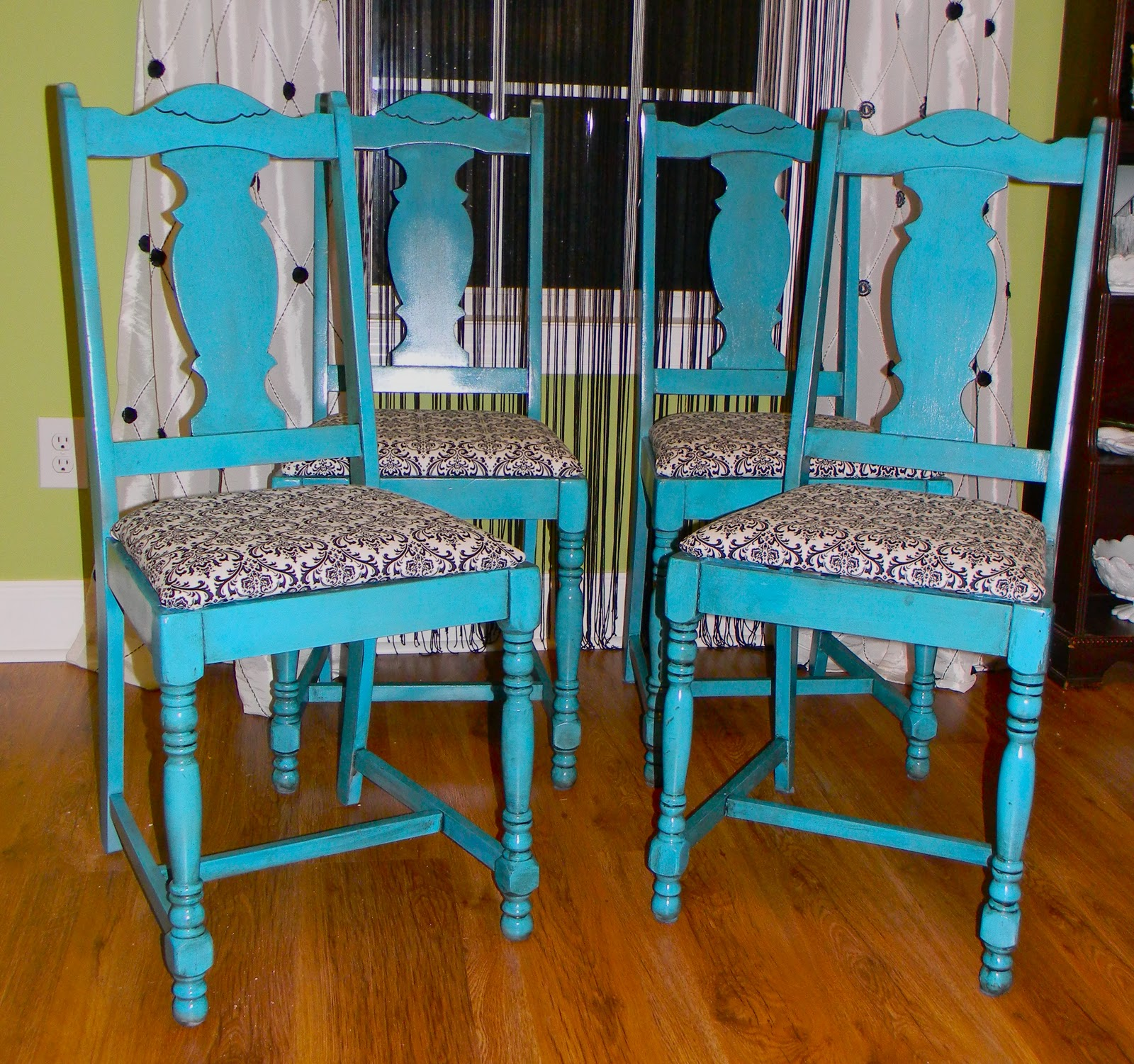 Turquoise Dining Chair Chair Pads Amp Cushions