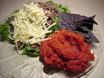 Monday's taco salad
