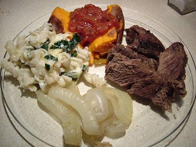 Bison dinner