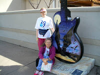 These guitars are all over town, like the Peanuts characters in St Paul