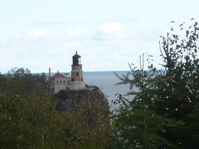 We also enjoyed the trip up and back, along the shore of Lake Superior.  Split Rock Lighthouse