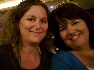 Lori & Nikki - what a shitty pic of me, LOL