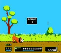 80年代的古早遊戲–獵鴨–(Duck Hunt)