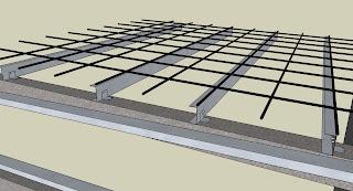 Cj S Blog Corner Of Portal Frame 3d Model