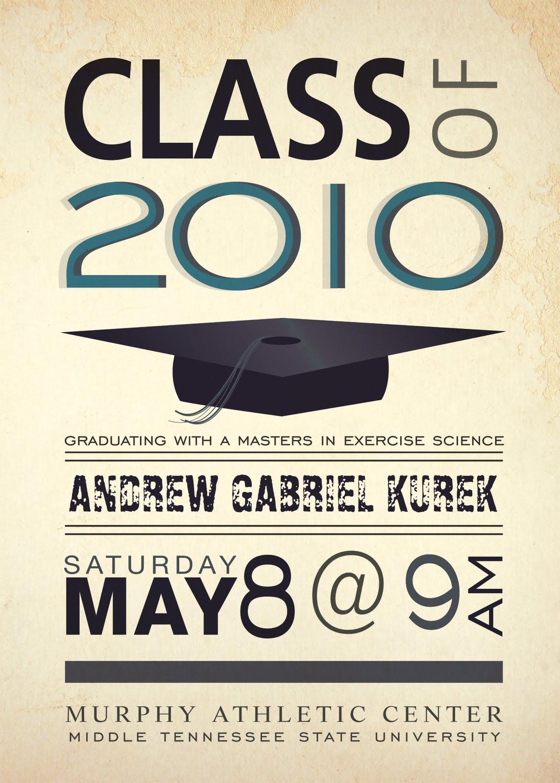 Design Grad Announcements