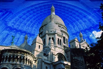 4_COLLAGE SERIES_ Paris, France_ Sacre Cour