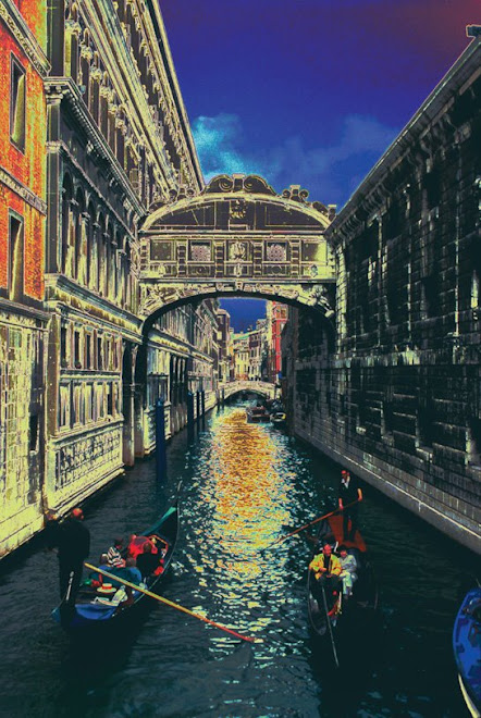 VENICE ITALY_ Bridge of Sighs