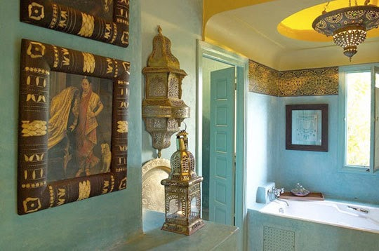 fascinating moroccan style bathroom | Delightfully Chic: Moroccan Inspired