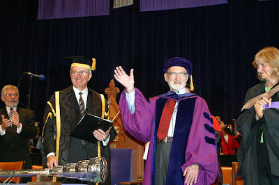 Dr. Henry Morgentaler awarded an honourary Doctor of Laws degree at University of Western Ontario, March 2007