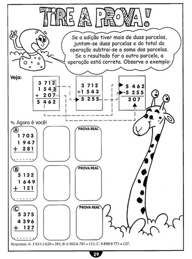 Terra do ABC: Atividades de Matemática