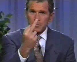 Fuck bush president were visited