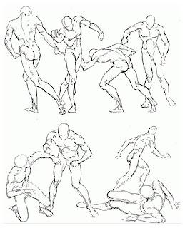Worksheet. Dibujo y Creacin LOS APUNTES DE FIGURA HUMANA EN MOVIMIENTO