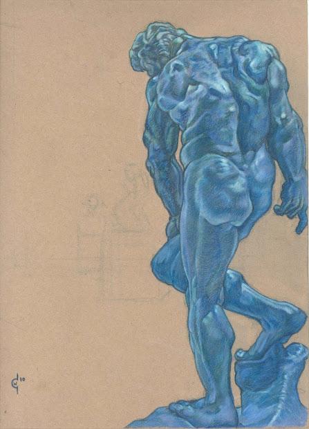 Christopherwolfe Life Drawing Fine Art Auguste Rodin'