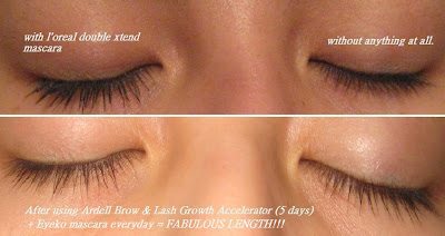 f0c52b1ee42 But I found one image that I used before when I did a review on L'oreal  double xtend mascara. I have a before image of my eyelashes there. Ready??