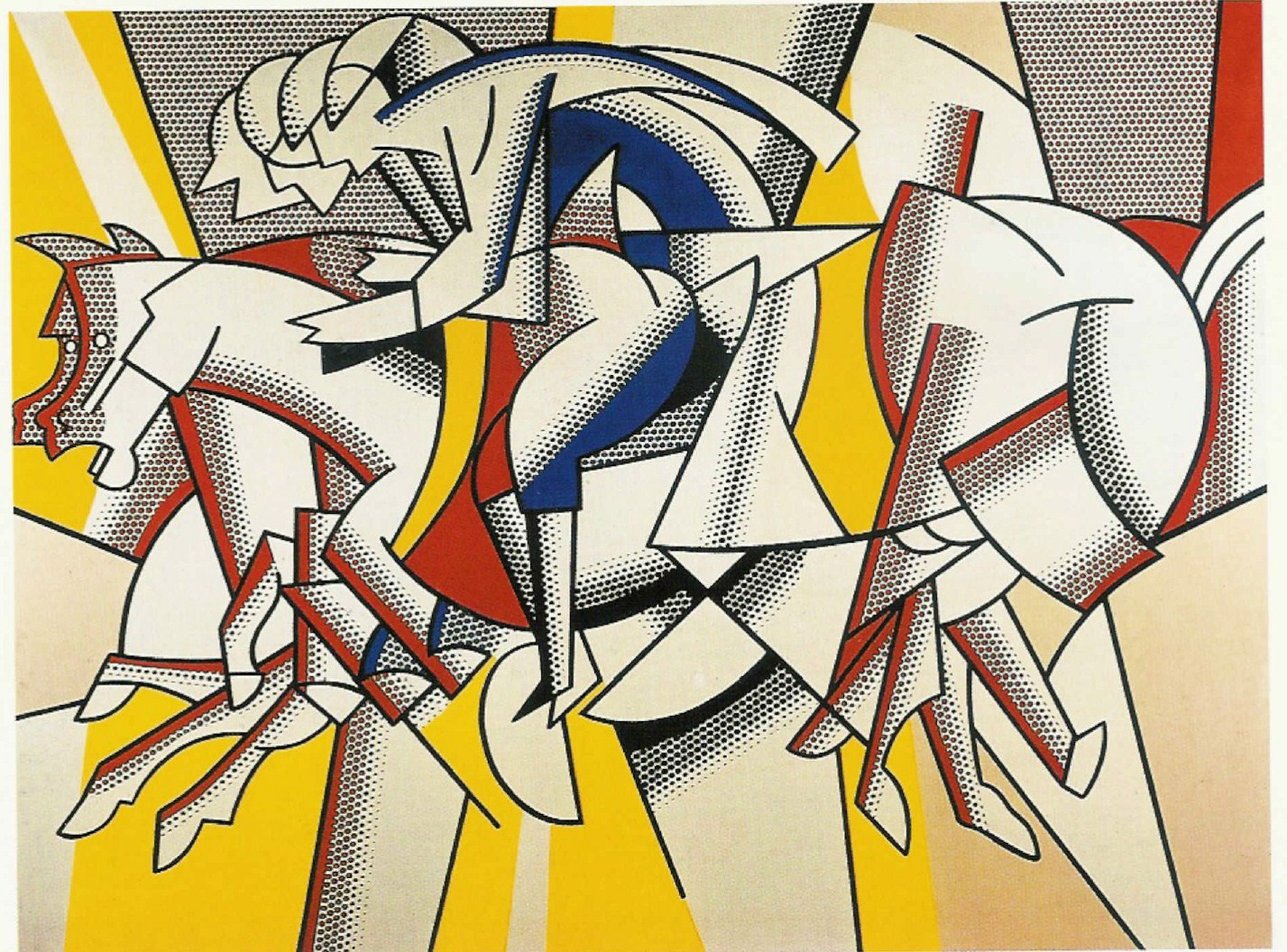 Roy Lichtenstein Cuadros It 39s About Time Roy Lichtenstein 39s 1923 1997 Pop Art