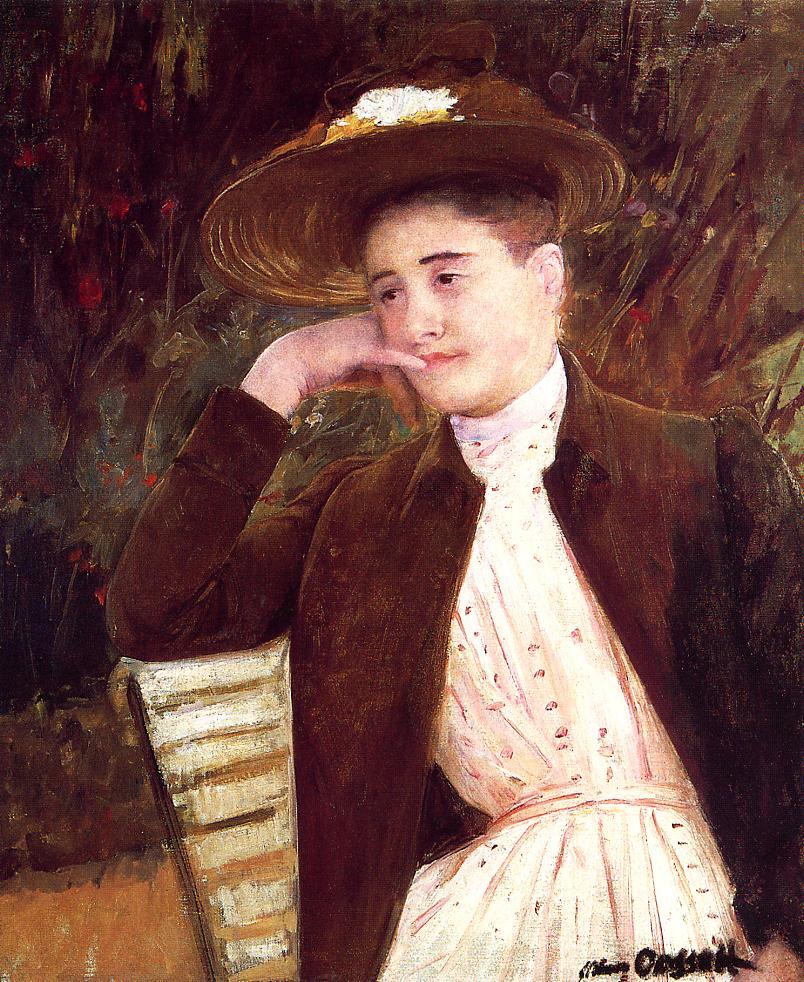 It 39 S About Time A Few Winter Hats Mary Cassatt 1844 1926