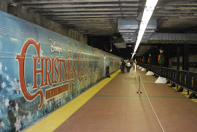 A Christmas Carol Nyc.Nyc Nyc Disney S A Christmas Carol Train Tour