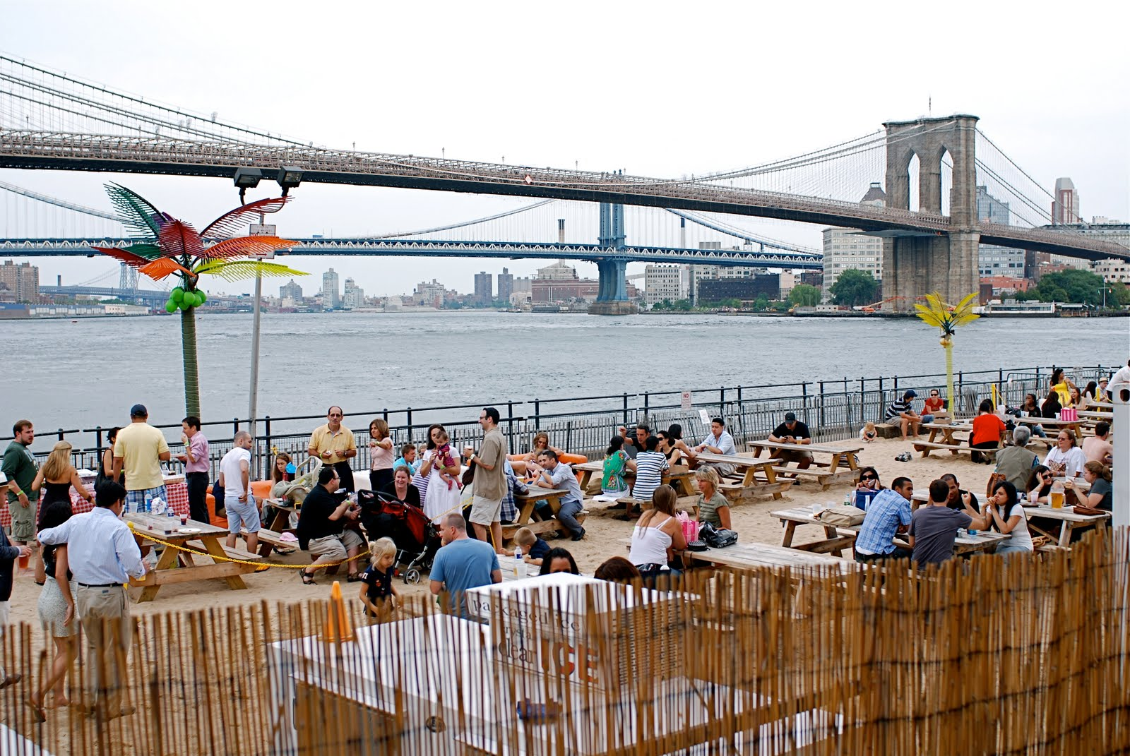 Nyc Water Taxi Beach South Street Seaport Manhattan S