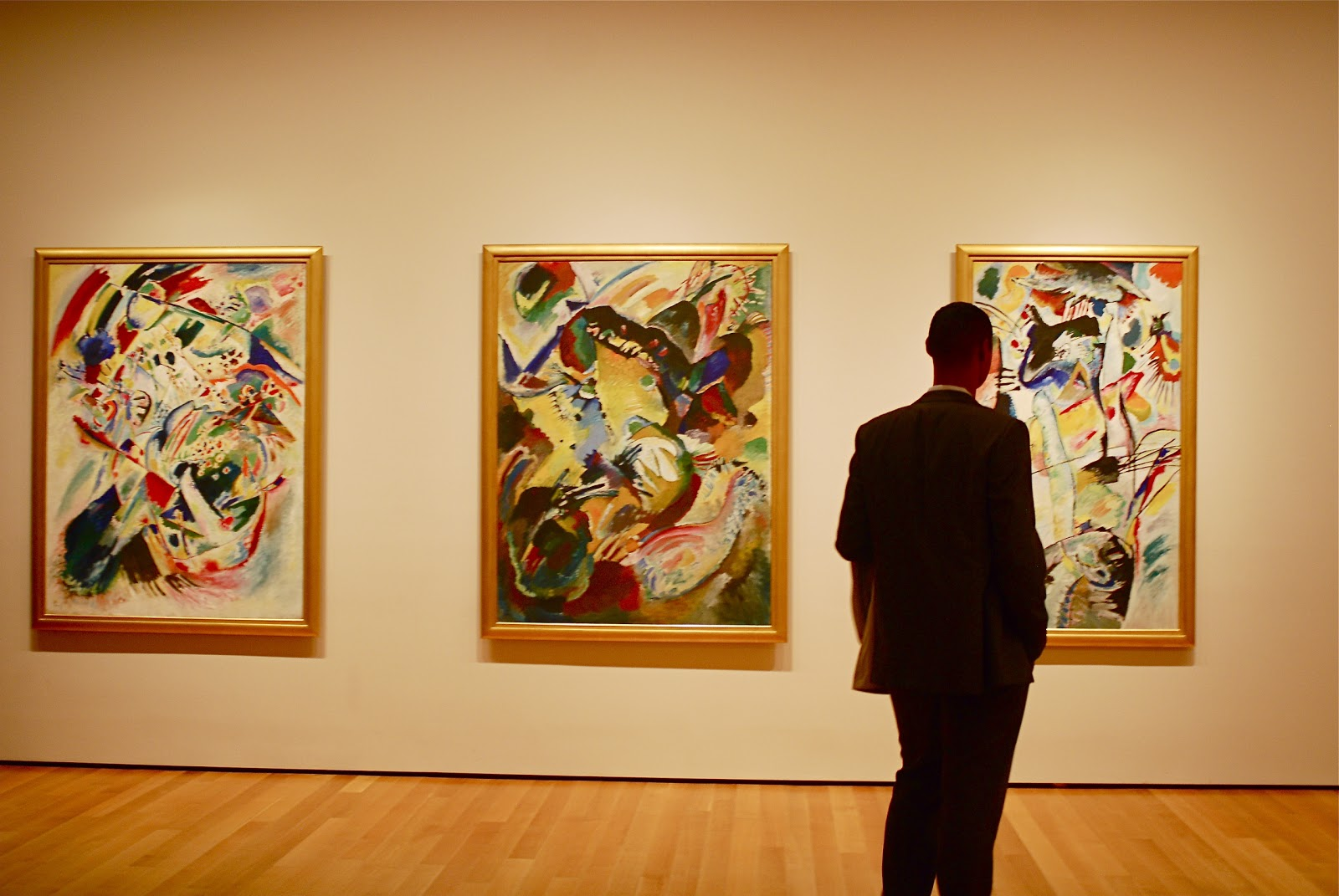 Nyc Nyc Kandinsky Paintings At The Museum Of Modern Art