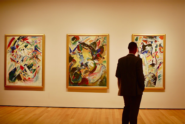 Nyc Kandinsky Paintings Museum Of Modern Art