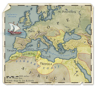 Muslim pirates from North Africa terrorize Europe for centuries up