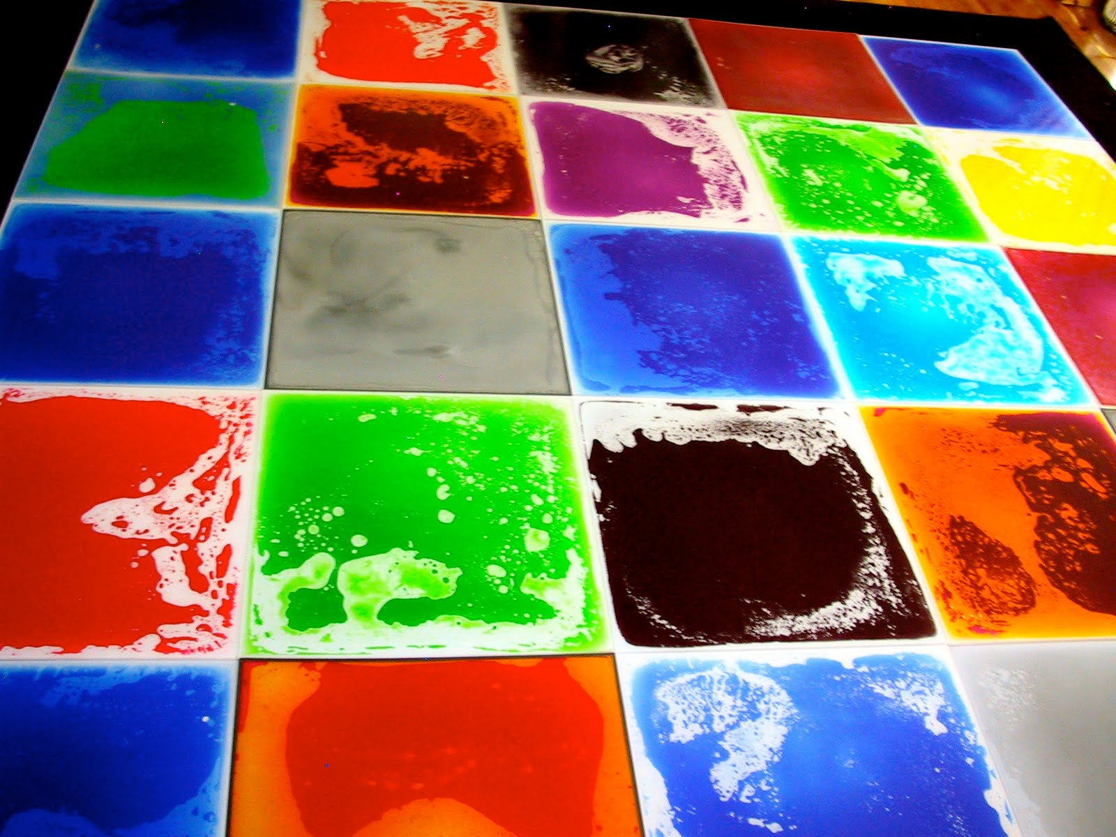LiquiFloors Liquid Floor Tiles