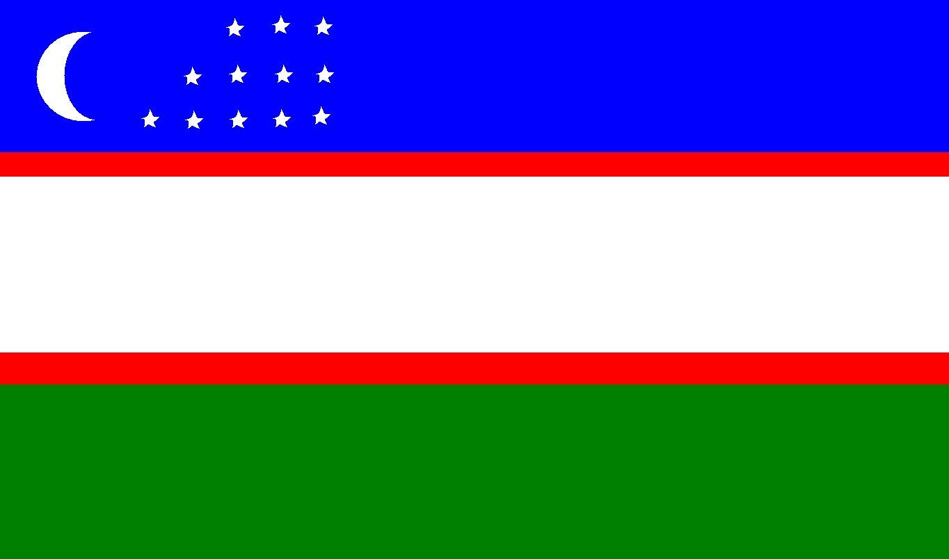 Флаг картинки узбек