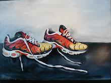 """"""" Nikes """"  lievelingsschoenen van Yvonne de Boer"""