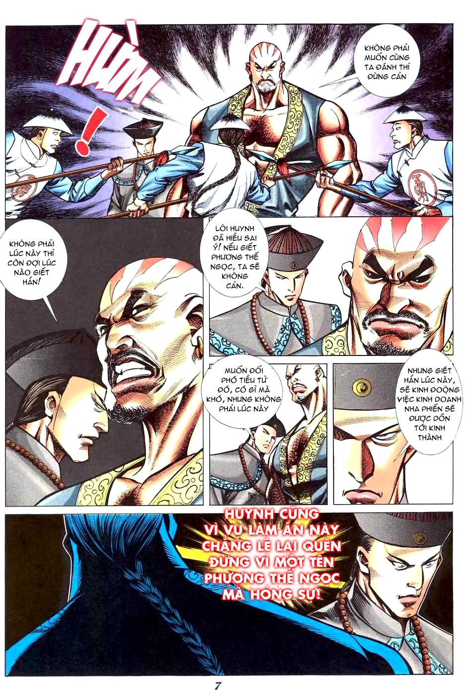 Phương Thế Ngọc Chap 5 - Next Chap 6