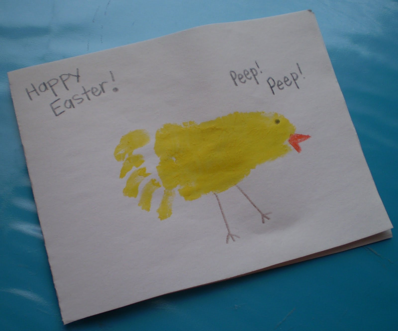 Easter Card Ideas For Children To Make Part - 41: Easter Card Ideas For Babies